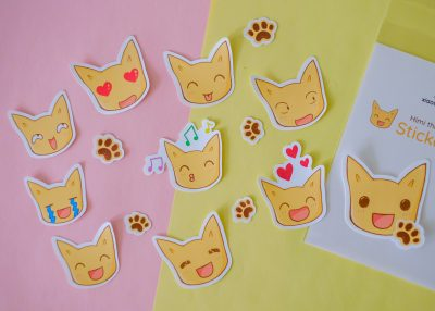 Himi the Cat Stickers Set 1