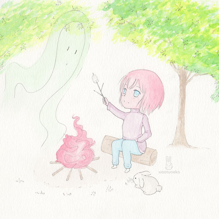 Forest spirit Xiaotuneko