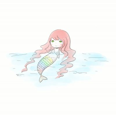Rainbow mermaid Xiaotuneko
