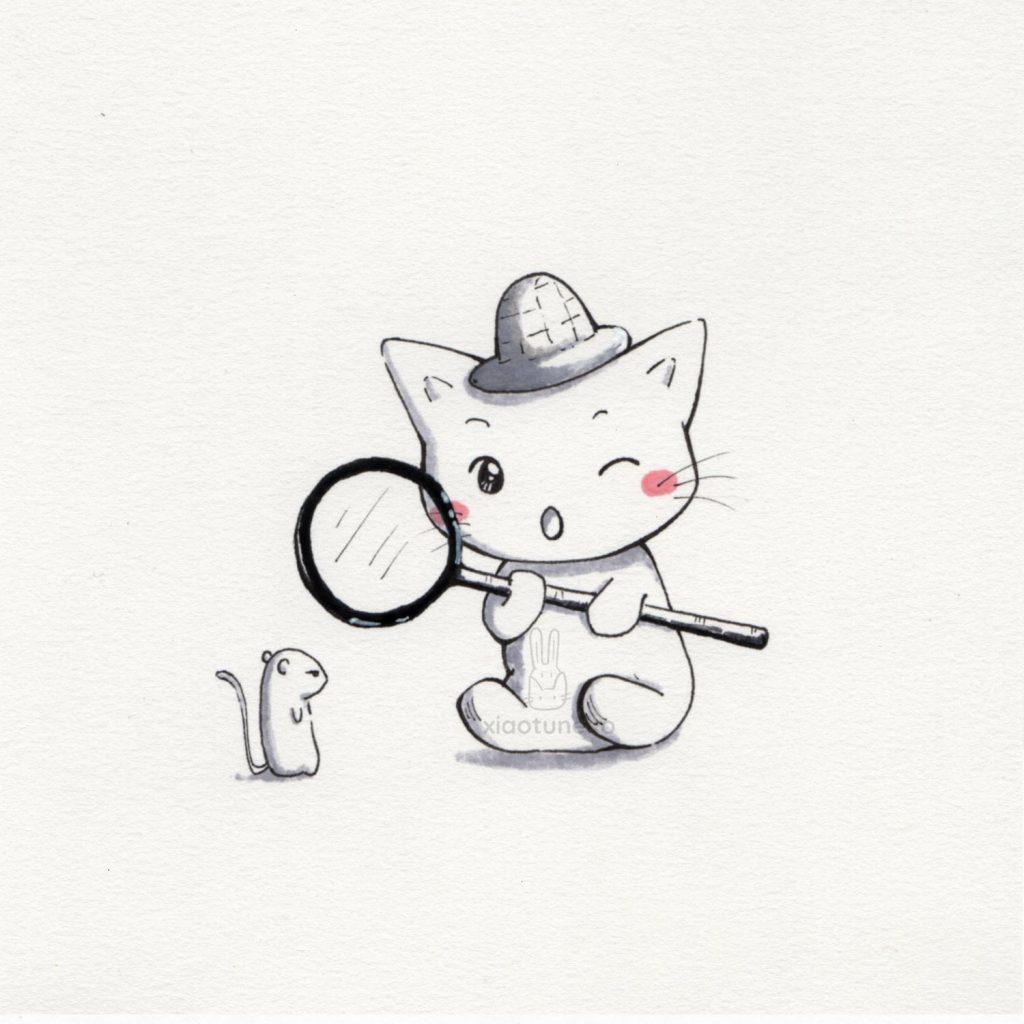Cat detective Xiaotuneko