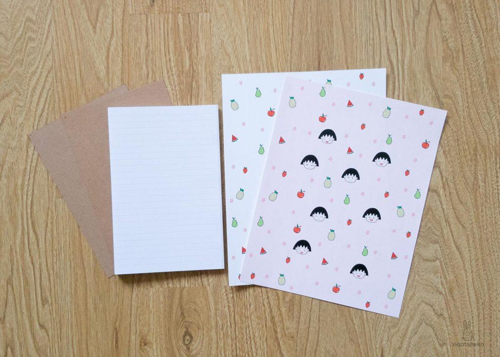 journal materials chibi maruko chan xiaotuneko