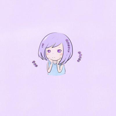 5 colors lavender Xiaotuneko
