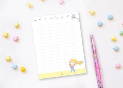 Dandi dandelion notepad xiaotuneko