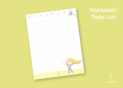 dandi notepad todolist xiaotuneko